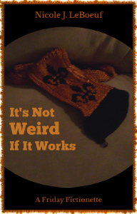 Yes, I knitted that. And I'm going to wear it.