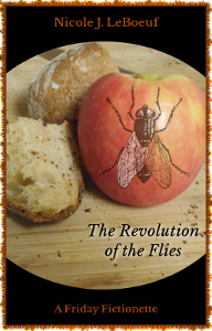 Cover art incorporates public domain clip art with original photography by the author, whose kitchen, alas, consists mainly of fly attractants.