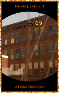 Cover art features original photography by the artist. The building is in Burlington, Iowa; the hand belongs to a random person in a crowd.
