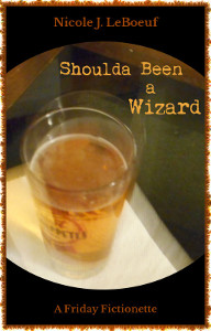 Cover art features original and fortuitously blurry photography by the author. Pint glass features Boulder Beer's Pulp Fusion, a blood orange IPA that's remarkably tasty.