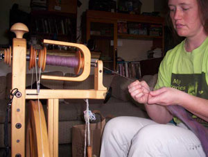 Me, spinning the single