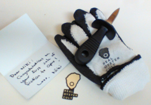 Useful tools and a lovely note.