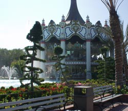 Great America: The Two-Story Carousel
